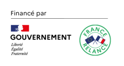 Logo chèque numérique France relance